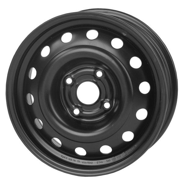 Кременчуг Т1301 DAEWOO: Lanos, Sens, Nexia, Opel Corsa, Kadett  5x13 4x100 ET45 DIA56.56 Black