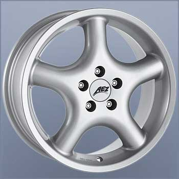 Aez Dion 7x15 5x120 ET18 DIA74,1 (silver)