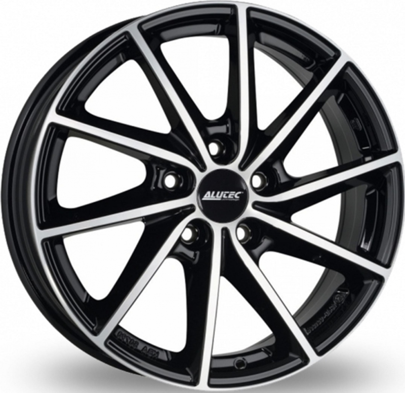 Alutec Singa 7x17 5x114,3 ET48,5 DIA67,1 (diamond black front polished)