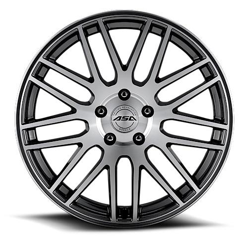 ASA GT2 8,5x18 5x120 ET18 DIA (black polished)