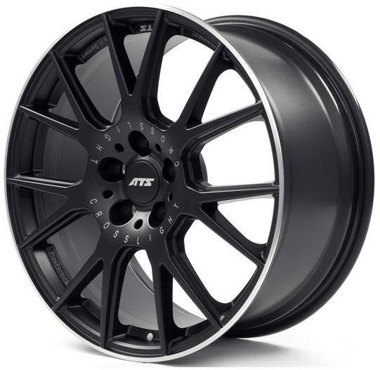 ATS Crosslight 9x19 5x112 ET30 DIA75 (racing black lip polished)