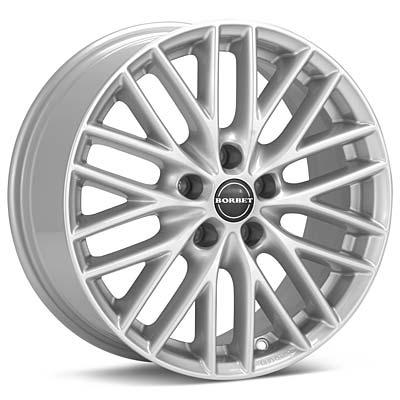 Borbet BS5 7x16 5x112 ET50 DIA72,6 (metal grey)