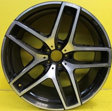 Mercedes OEM A2924011700 11x21 5x112 ET38 DIA66,6 (black polished)