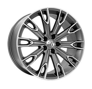 Replay Audi (A118) 9x20 5x112 ET33 DIA66.6 Matt Gun Metal Fully Polished (Матовый темно-серый полированный)
