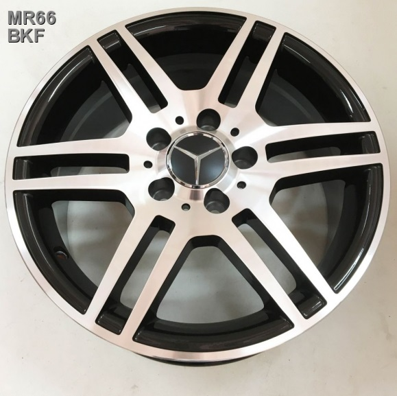 Replay Mercedes (MR66) 7x16 5x112 ET32 DIA66.6 Black full polish