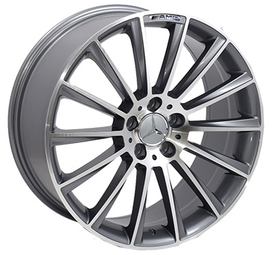 Replica Mercedes (BK836) 9,5x20 5x112 ET43 DIA66,6 (GP)
