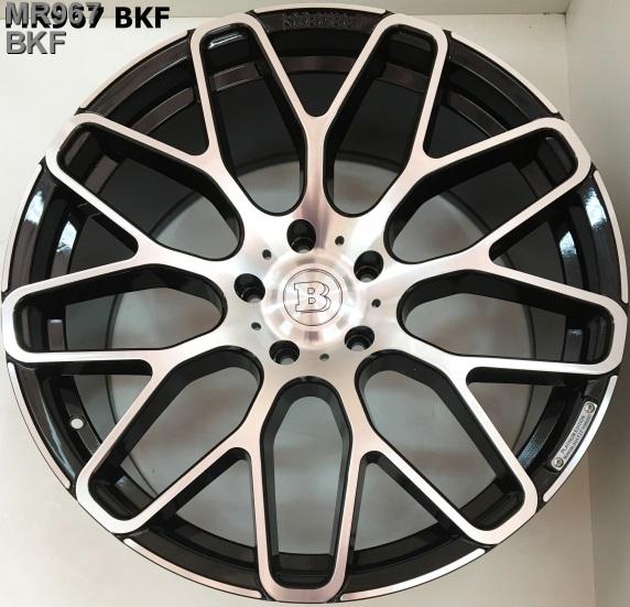 Replica Mercedes (MR967) 10x22 5x130 ET48 DIA84,1 (BKF)