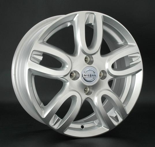 Replica Nissan (NS277) 6x15 4x114.3 ET40 DIA73.1 Hyper Silver (Cупер серебро)