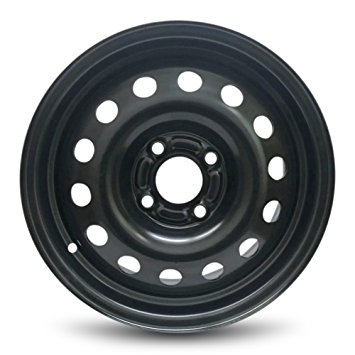 Steel Ford 5,5x14 4x108 ET37,5 DIA63,4 (black)