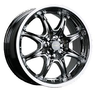 TG Racing LYN 004 6.5x15 4x108 ET38 DIA67.1 Hyper black