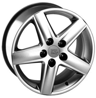 WSP Italy Audi (W530) Positano 7,5x17 5x100 ET33 DIA57,1 (silver)
