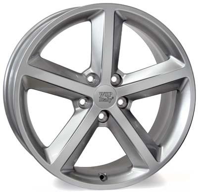 WSP Italy Audi (W566) Gea 8x17 5x112 ET39 DIA66,6 (hyper silver)