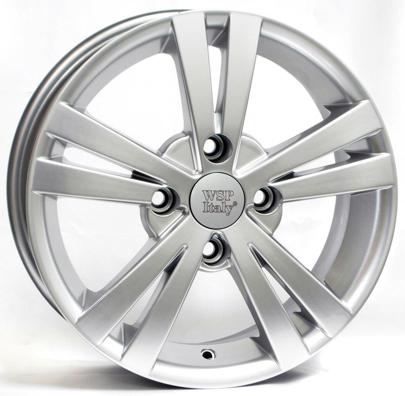 WSP Italy Chevrolet (W3602) Tristano 6x15 5x114,3 ET44 DIA56,6 (silver)