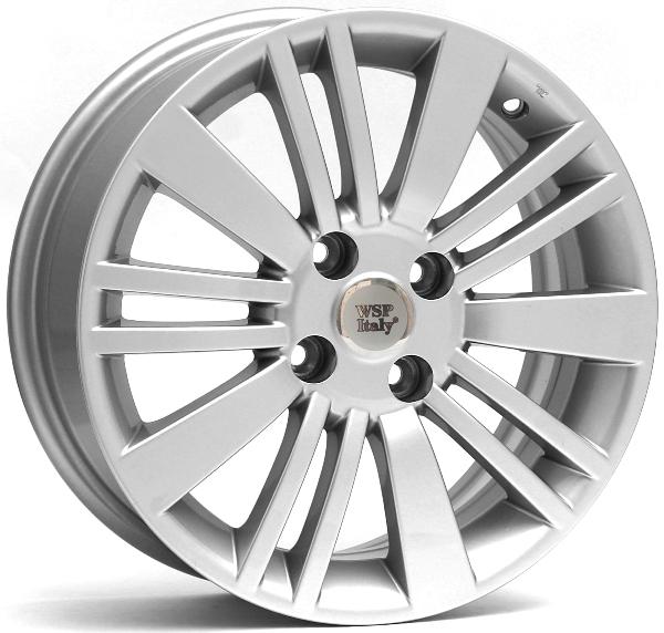 WSP Italy Fiat (W142) Ustica 6x15 4x98 ET33 DIA58,1 (silver)