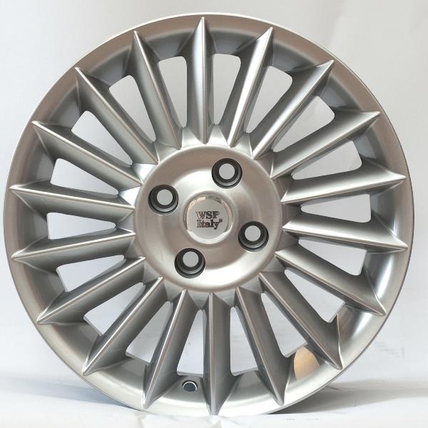 WSP Italy Fiat (W151) Rimini 6x15 4x100 ET39 DIA56,6 (silver)