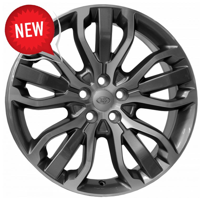 WSP Italy Land Rover (W2358) Tritone 8,5x20 5x120 ET47 DIA72,6 (anthracite polished)