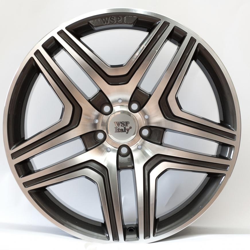 WSP Italy Mercedes (W766) AMG Nero 10x20 5x112 ET46 DIA66,6 (anthracite polished)