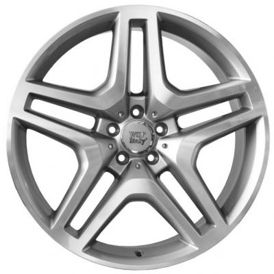 WSP Italy Mercedes (W774) Ischia 9,5x20 5x112 ET57 DIA66,6 (silver polished)