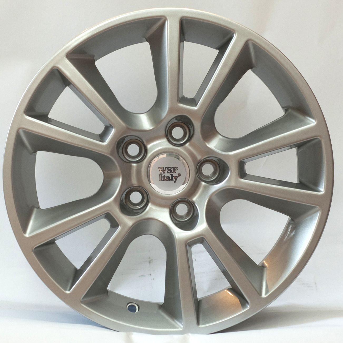 WSP Italy Opel (W2502) Strike 6,5x15 5x110 ET37 DIA65,1 (silver)