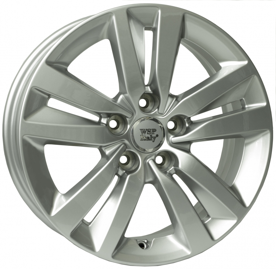 WSP Italy Peugeot (W854) Lione 7x16 5x108 ET44 DIA65,1 (silver)