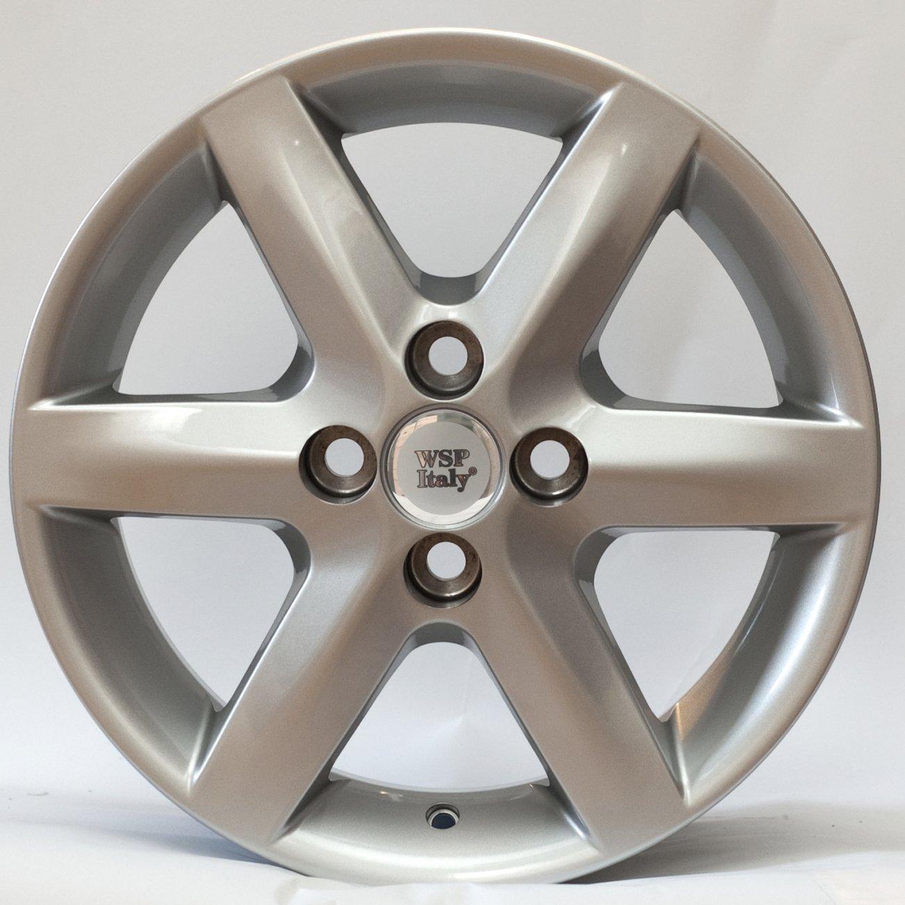 WSP Italy Toyota (W1713) Troy 6,5x15 4x100 ET35 DIA54,1 (silver)