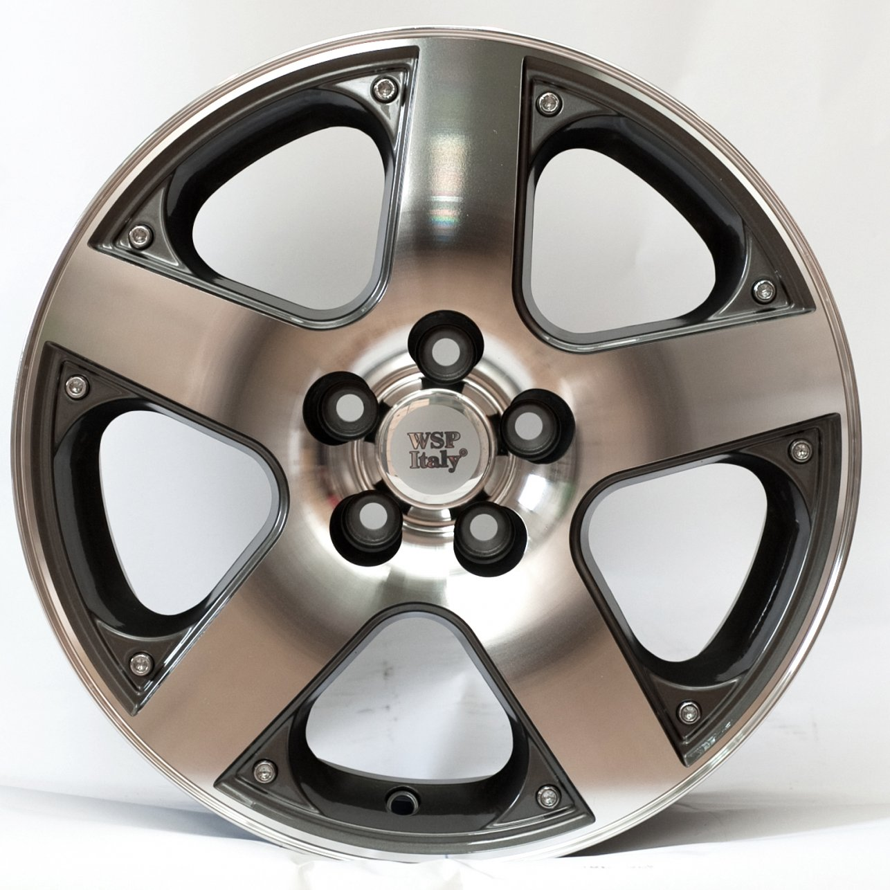 WSP Italy Volkswagen (W430) Sorrento 6,5x15 5x100 ET35 DIA57,1 (anthracite polished)