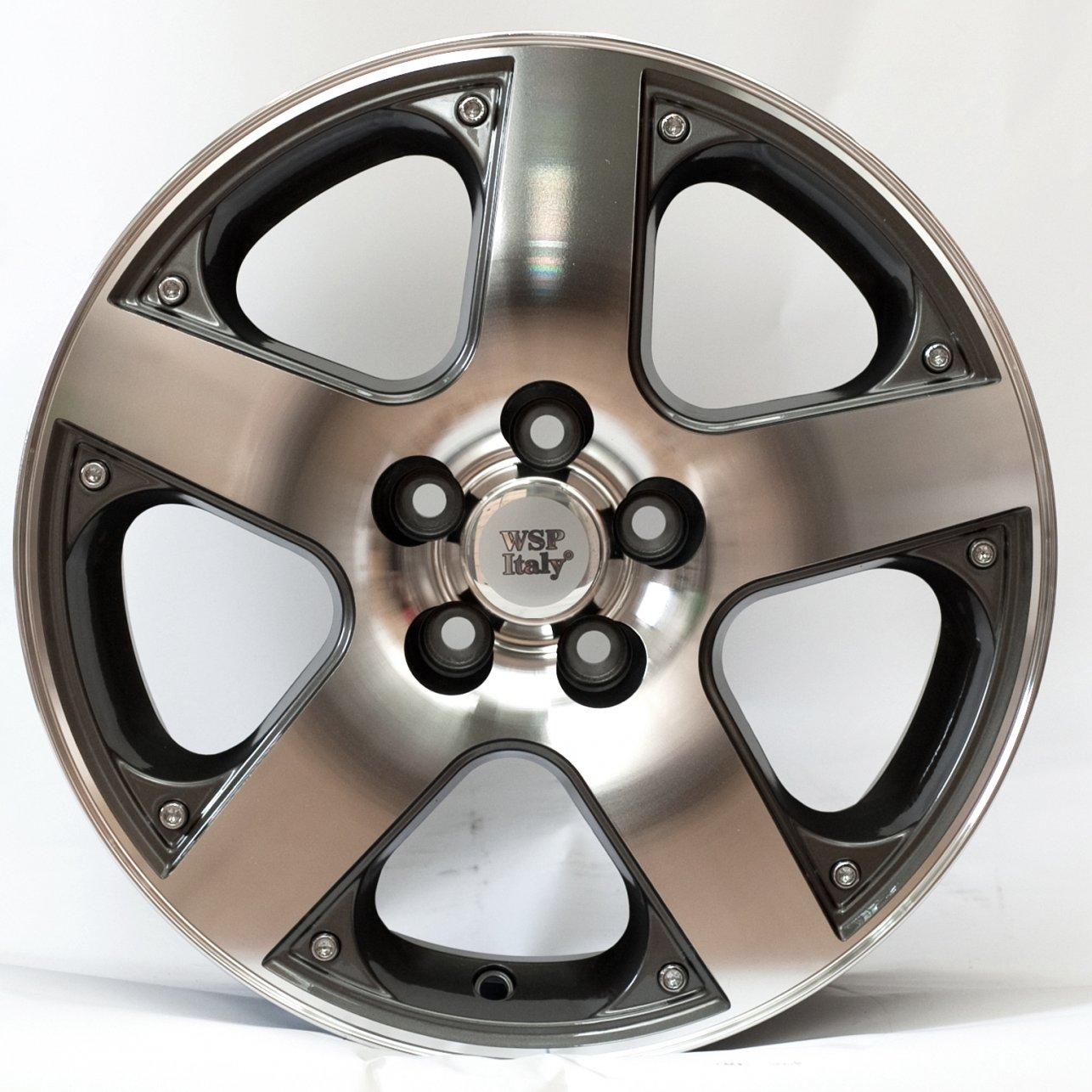 WSP Italy Volkswagen (W430) Sorrento 6,5x15 5x100 ET35 DIA57,1 (anthracite polished)