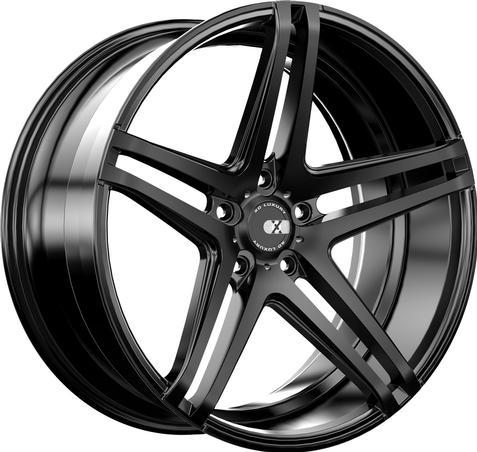 XO Wheels Caracas 9,5x19 5x130 ET40 DIA (matt black)