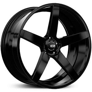 XO Wheels Miami 8,5x20 5x120 ET35 DIA72,6 (matt black)