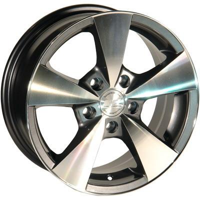 Zorat Wheels 213 6.5x15 5x120 ET15 DIA74.1 Silver Polished (Серебристый полированный)