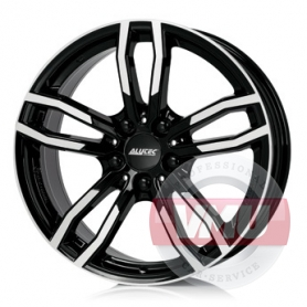 Alutec Drive 8x18 5x120 ET30 DIA72.6 Diamond black front polished